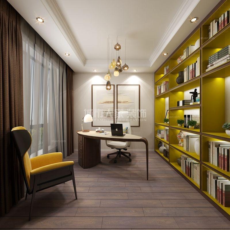 四居室北欧风格书房软装