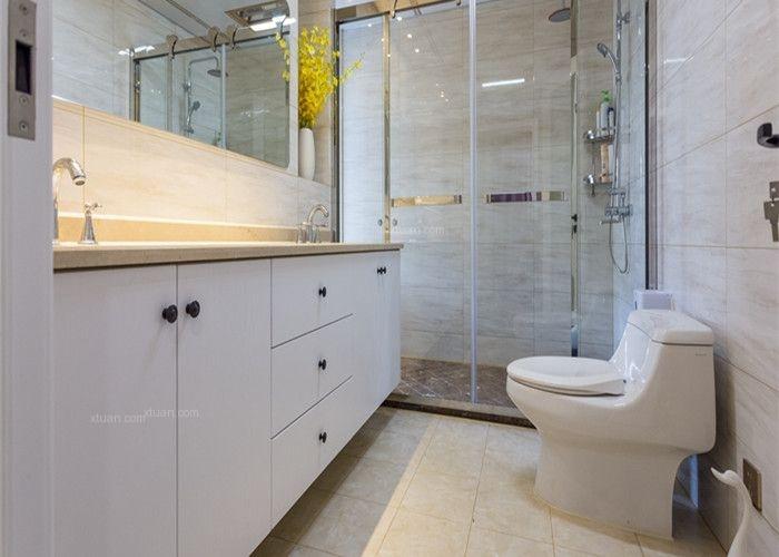 四居室现代简约洗手间