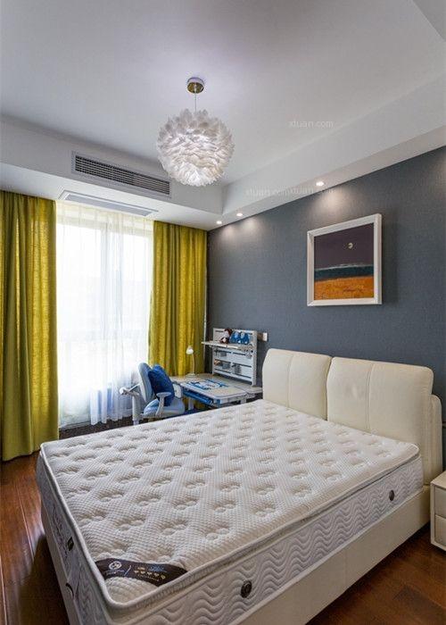 四居室现代简约儿童房