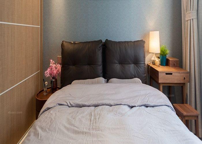 两室两厅现代简约主卧室