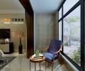 泰安智园7号楼张老师新中式风格装修设计方案-万泰装饰公司