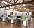 工业风办公设计丨企业办公室设计丨百饰达案例参考