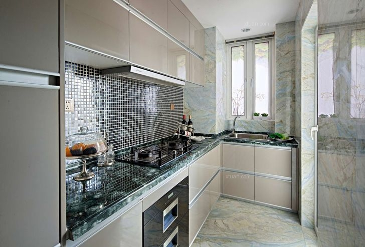 三居室新古典厨房厨具