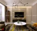 海尔云世界142平现代简约风格装修,灵气与生命力