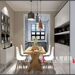 金海名园122平米北欧风格温馨惬意,打造美好舒适之家