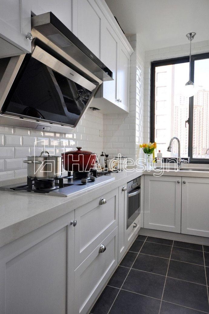 大户型美式风格厨房