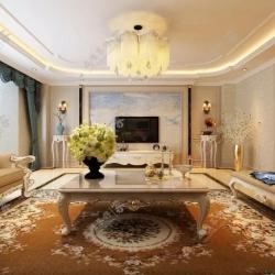 呼市室内装修案例赏析|欧式•巨海城