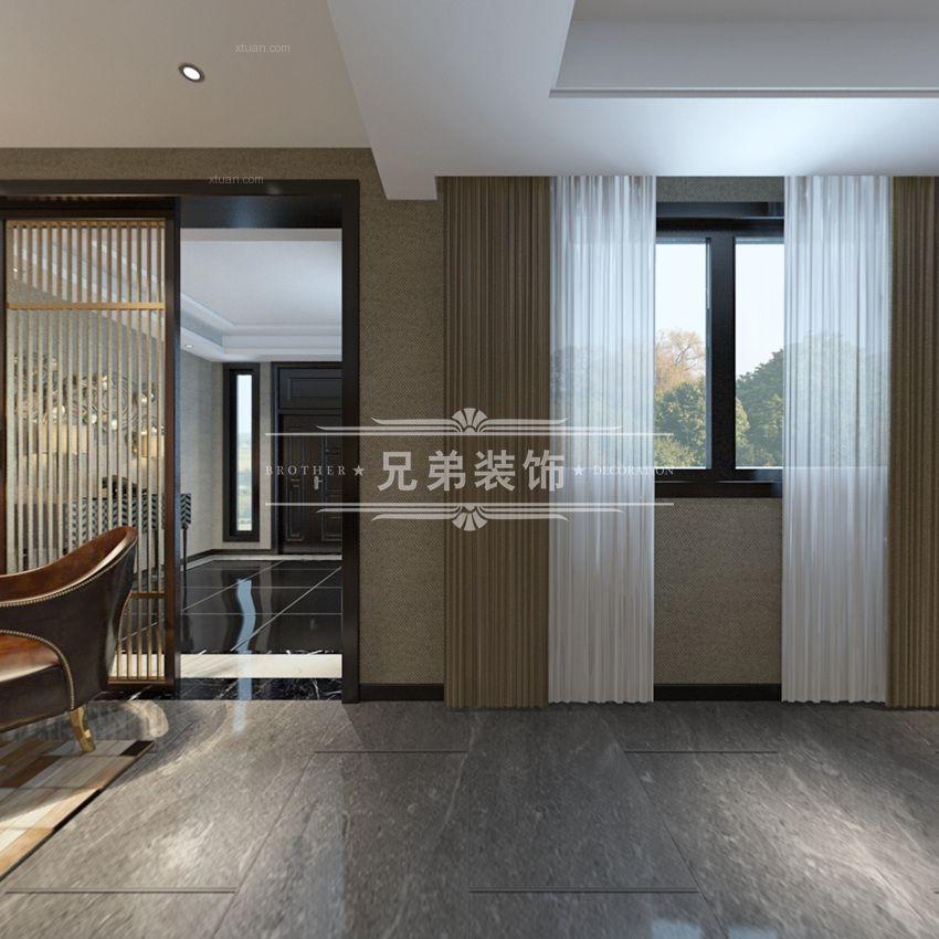 重庆协信春山台装修设计效果图案例