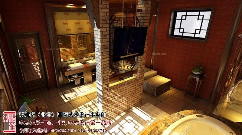 北京古典中式四合院装修案例, 幽静而深远