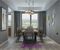 梦世界华园130平三室两厅装修,简约风格案例