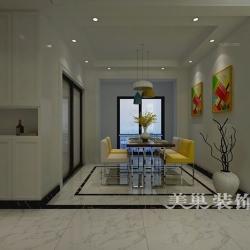 郑州亚星官邸120平精致简约装修,10万打造时尚空间