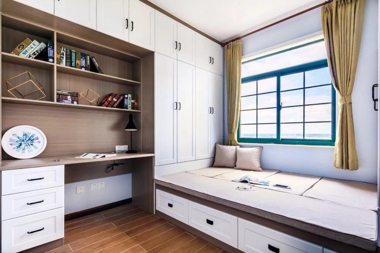 唐山华理家园90㎡简欧风格案例分享