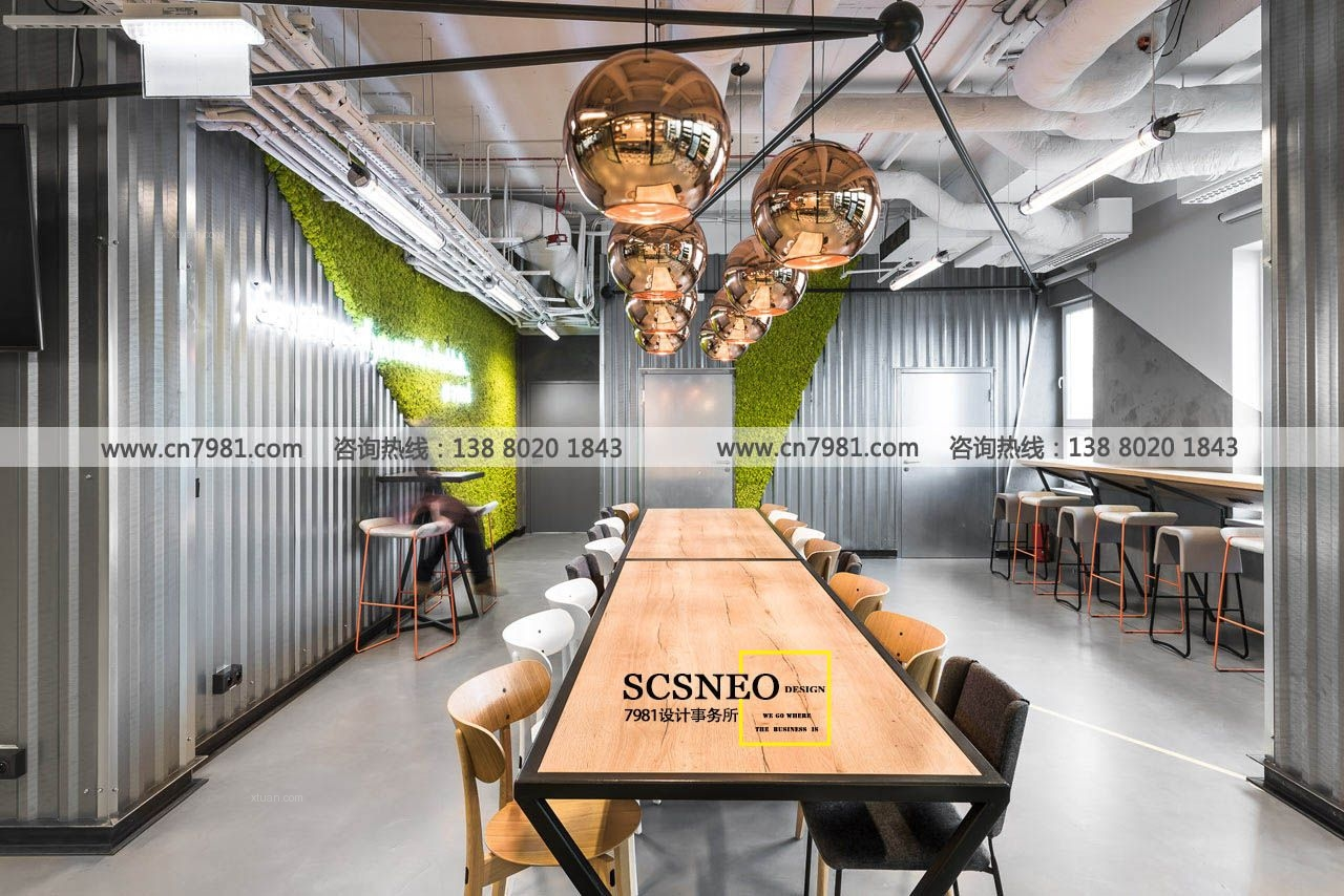 成都办公室设计公司|成都专业办公室设计|Loft办公室设计