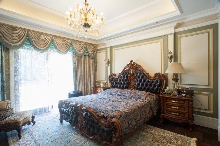 兰州九鼎装饰|雁滩家园三室两厅美式风格装修案例