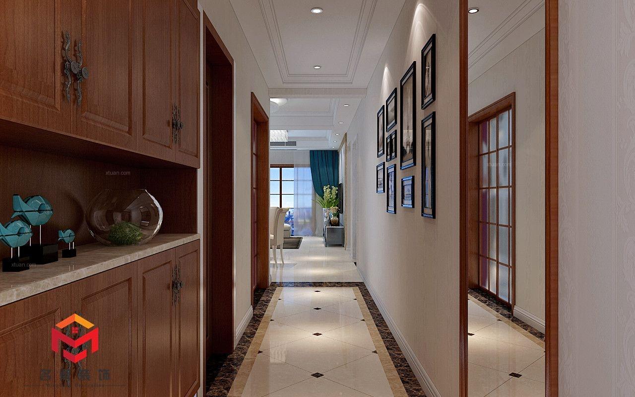 三居室欧式风格玄关