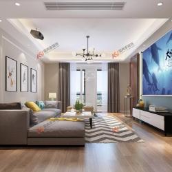 【平湖港湾】114㎡现代风格——设计师皮知昀