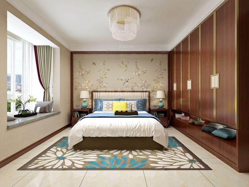 【西安城市人家】聚福苑146平米新中式风格
