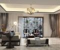 颐湾丽庭400平别墅新中式风格