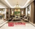 济南中海铂宫央墅B2现代风格320平别墅装修