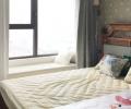海尔玫瑰兰庭105平三居室混搭风格案例