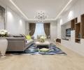 海信湖岛世家125平三居室现代风格案例