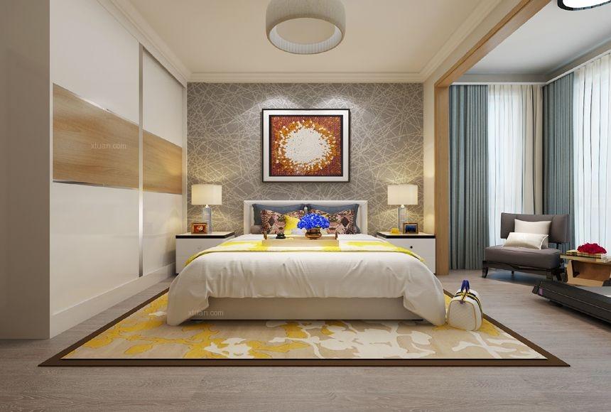 桓竹苑95平两居室北欧风格案例