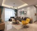 【西安城市人家】流畅的线条,素色的搭配更为大气——120平米