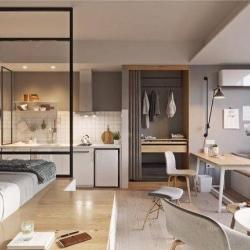 五脏俱全的极小公寓1