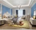 【西安龙发装饰】玫瑰公馆|151平米|美式风格|案例鉴赏