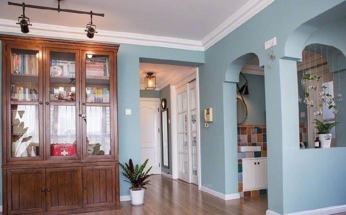 四居室美式风格玄关