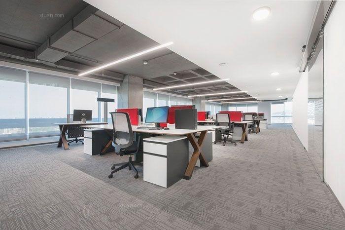 成都金融型办公室装修
