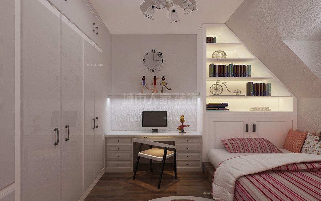 三居室中式风格儿童房