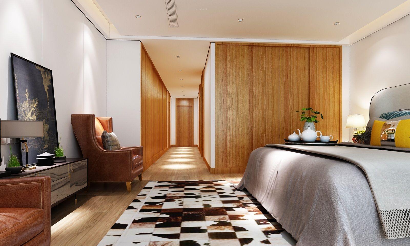 大户型现代风格主卧室