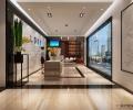 深圳办公室装修设计案例-九方集团-广深艺建设