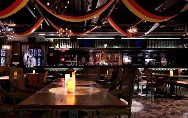 【时来运转空间设计】酒吧装修图