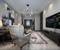 辰能溪树庭院-当下流行黑白灰风格-哈尔滨鸣雀装饰