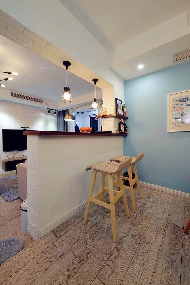 两居室北欧风格厨房开放式厨房