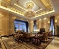 复地领馆1000平别墅欧式古典风格