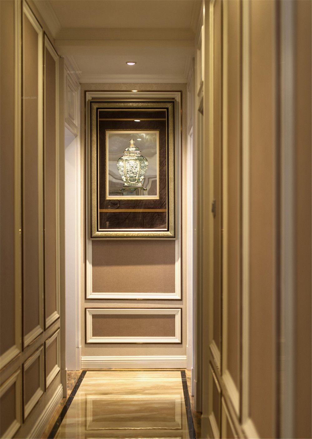 浦江海景大平层欧式古典风格设计