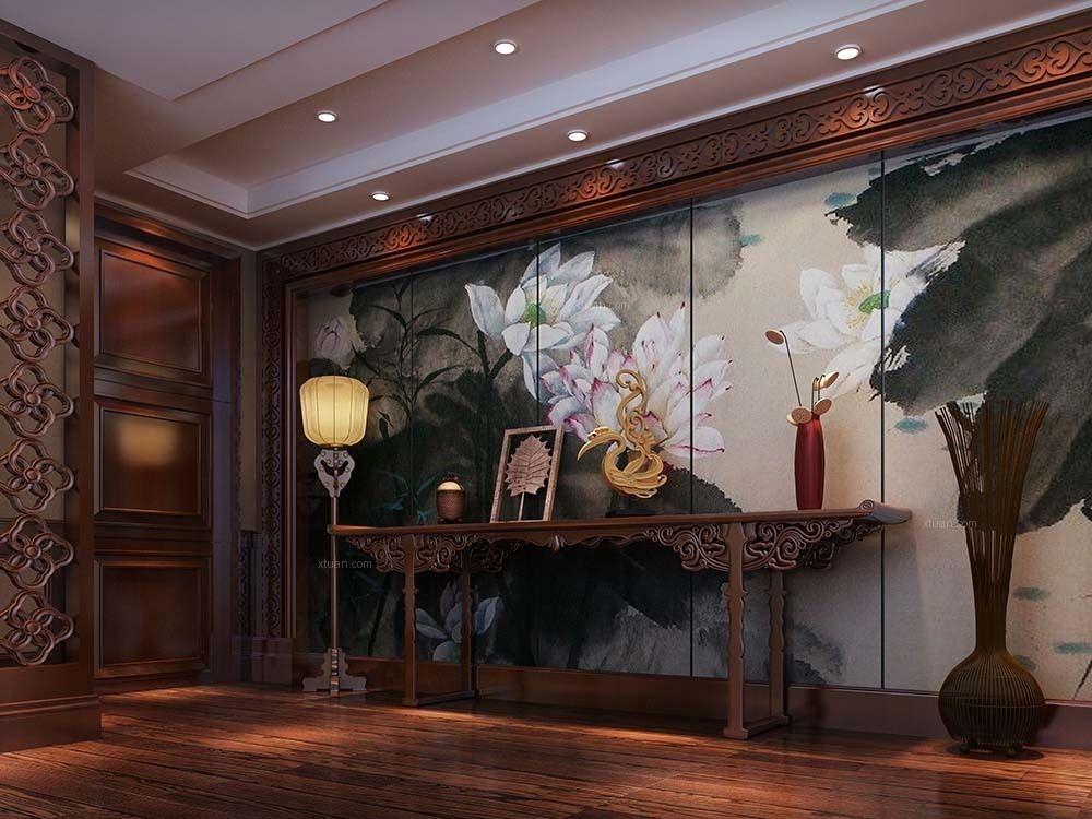 朱家角九间堂西苑别墅中式风格设计
