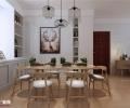 中垠雅苑装修三居室北欧风格设计