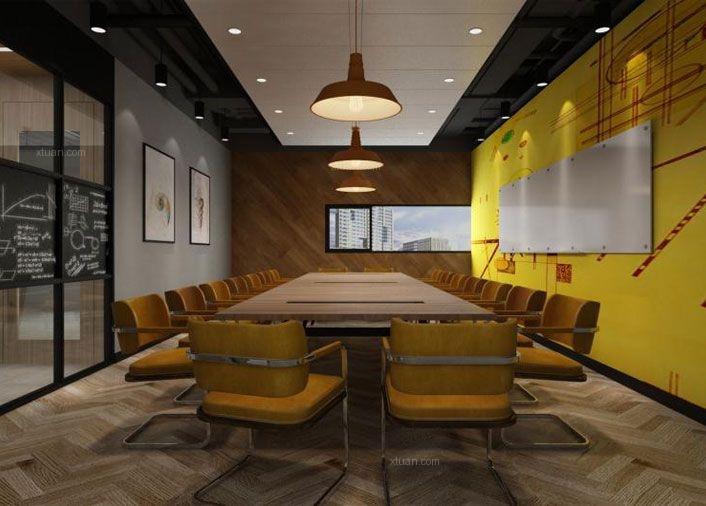 现代简约办公空间
