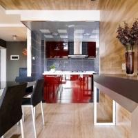 保利西岸312平大平层现代风格设计