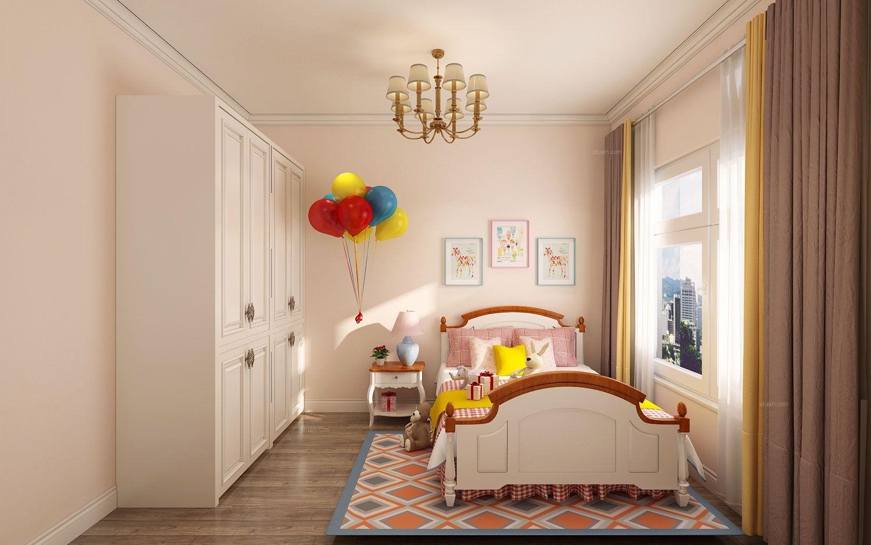 一居室现代风格儿童房