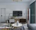 帝华鸿府96平两室两厅北欧风格装修
