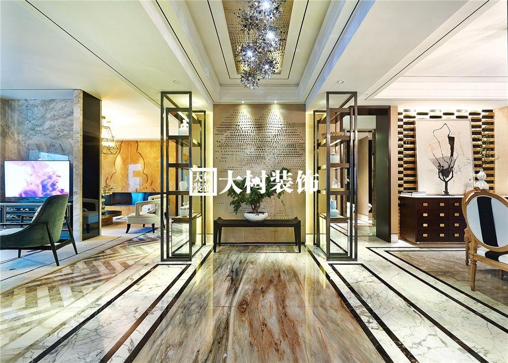 新中式三室两厅--恒久不变的东方魅力