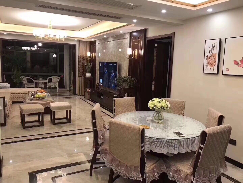 四居室新中式餐厅