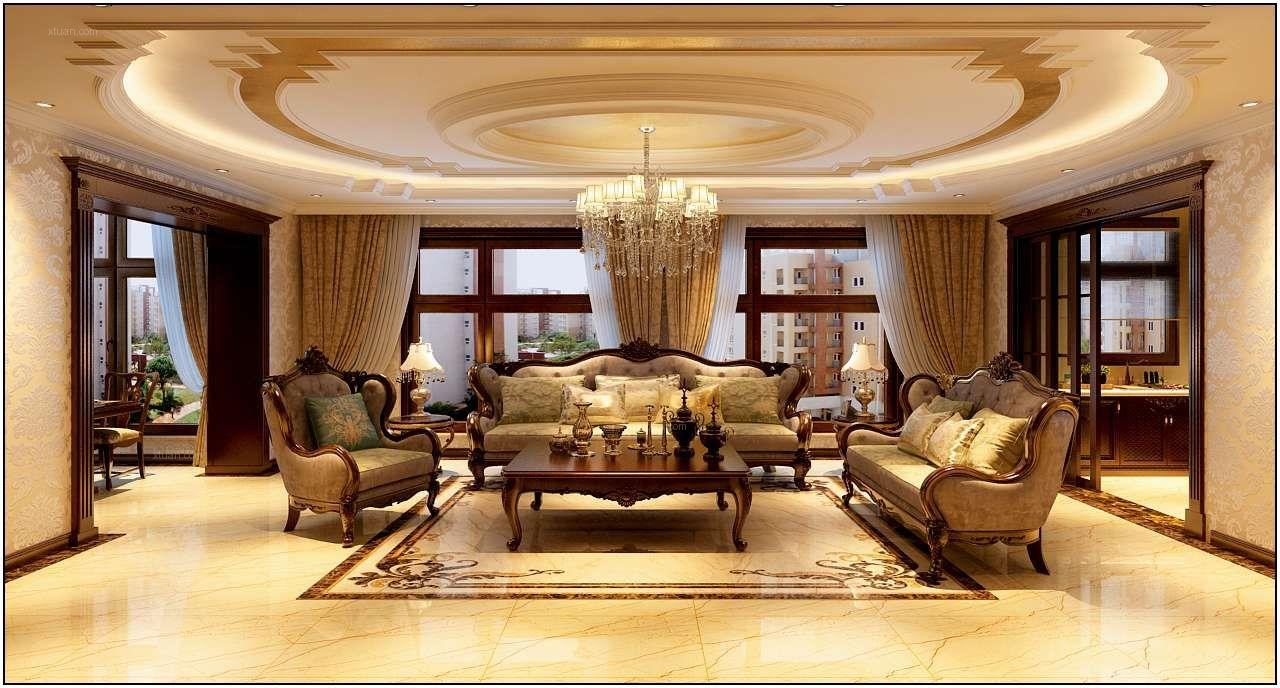 辰能溪树庭院-金碧辉煌的欧式风格-哈尔滨鸣雀装饰