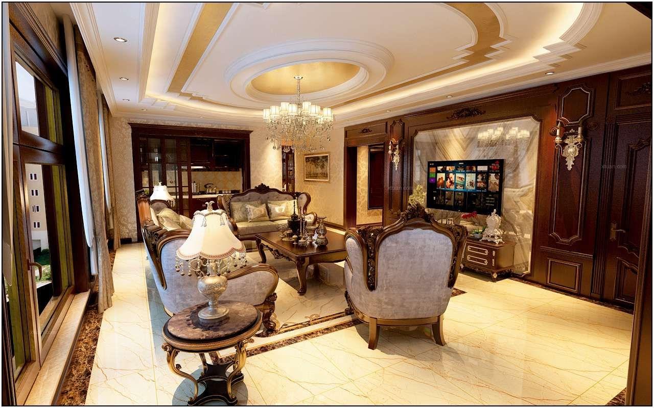 两居室欧式风格客厅
