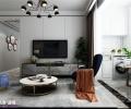 中新国际城装修现代简约风格